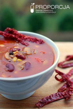 Meksykańska zupa z chili i soczewicą  http://www.dietetyk-proporcja.pl/blog/kategorie/przepisy/96-meksykanska-zupa-z-soczewica-i-chili