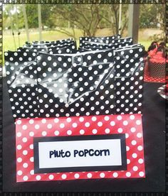 Mickey Mouse Birthday Party Ideas   Photo 9 of 21   Catch My Party pluto's poopin popcorn