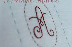 Brodez Avec Moi de Marie Suarez/ Etapa 1ª.