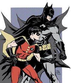Craig Cermak posted his version of Batman and Robin