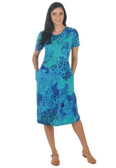 La Cera Seaside Casual Dress 2523/722 Front