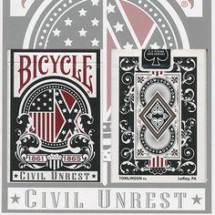 Bicycle Civil Unrest Deck - North/Union Deck