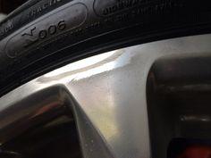 2013 Cadillac CTS wheel repair.