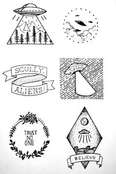 These would make great tattoos!