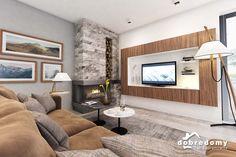 Marika - Dobre Domy Flak & Abramowicz Interior Architecture, Interior Design, Good House, Facade House, Design Case, Nordic Style, Modern House Design, Home Projects, Home And Garden