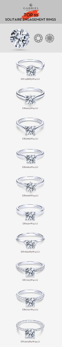 Discover our collection of solitaire engagement rings features a variety of exciting styles, from prong and cathedral to semi-bezel and bezel. Solitaire Ring, Solitaire Engagement, Diamond Rings, Parisian Wedding, Fashion Vocabulary, Beautiful Engagement Rings, Bridal Sets, Man Style, Round Cut Diamond
