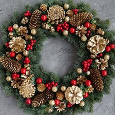 Christmas holidays often come with joy and happiness. This can be emphasized wit., Christmas holidays often come with joy and happiness. This can be emphasized with a bunch of DIY Christmas wreaths to make the holiday complete. Christmas Wreaths To Make, Holiday Wreaths, Rustic Christmas, Christmas Holidays, Christmas Crafts, Christmas Ornaments, Christmas Island, Christmas Wresth, Christmas Music