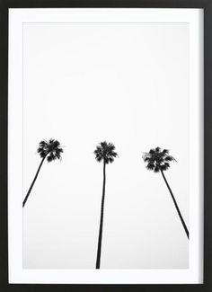 Malibu als Gerahmtes Poster von clintonfriedman | JUNIQE