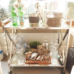 TUESDAY TREND Despite the claim that bar carts are purely a piece of hipster furniture du jour, we think they're classic! Whether you're a nightly cocktail drinker or garden party entertainer, a great bar cart is equal parts form and function. Come...