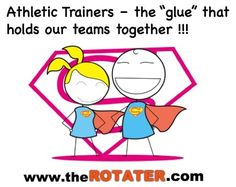 Athletic Trainers Stretch #Shoulders ... the Rotater helps ..