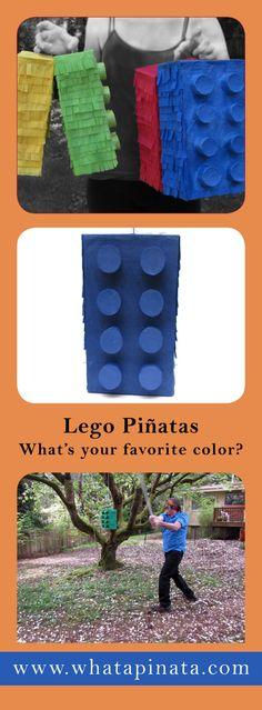 Lego Pinata $21 and up.