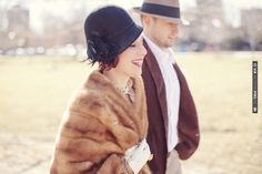 Glamourous Vintage Chicago Engagement Shoot | CHECK OUT MORE IDEAS AT WEDDINGPINS.NET | #weddings #engagement #engaged #thequestion #events #forweddings