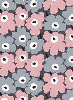 Marimekko Volume 4 Unikko x Floral Wallpaper Roll Color: Sky Blue / Pistachio / Navy Wallpaper Roll, Cool Wallpaper, Pattern Wallpaper, Iphone Wallpaper, Hipster Wallpaper, Wallpaper Online, Marimekko Wallpaper, Marimekko Fabric, Pattern Art