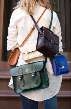 Madewell + The Cambridge Satchel Company = Monogrammed Satchels