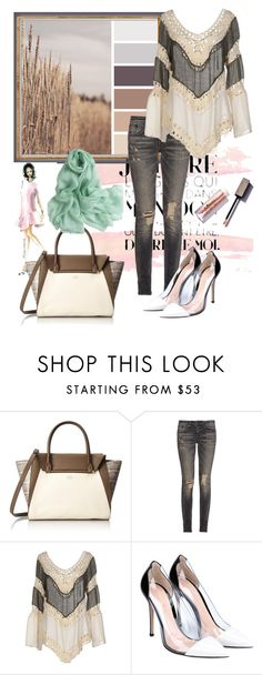 """""""One day"""" by milkalilien on Polyvore featuring Vince Camuto, R13, Care Of You and Gianvito Rossi"""