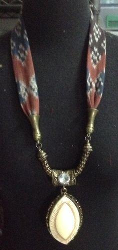 Ikat necklaces