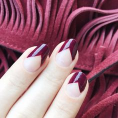@maraferreira's 'in the lobby' manicure from the essie fall collection is pure plum perfection. #essielove #RMforessie