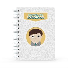 Cuaderno - Las notas del sociólogo, encuentra este producto en nuestra tienda online y personalízalo con un nombre. Notebook, Data Sheets, Lawyers, Creative Photography, Notebooks, Report Cards, The Notebook, Exercise Book