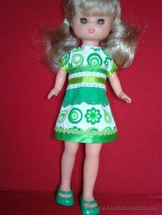 Vestido para Lesly de Famosa Nancy Doll, Dolls, Summer Dresses, Fashion, Vestidos, Baby Sister, Bonito, Celebs, Patterns