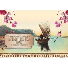 Papaya Voyage Sticky Notes  http://www.peaceloveanddecorating.com/sticky-notes-papaya-voyage.html#