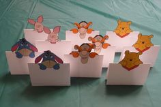 Winnie the Pooh and Friends Inspired Food Tents Pooh by Partycre8