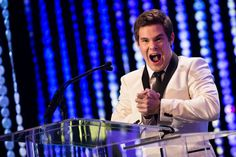 Pin for Later: 23 Times Adam DeVine Just Couldn't Keep a Straight Face When He Was Pumped to Present an Award