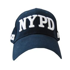 02c8708066f Adult Nypd Navy White Hat Navy Hats