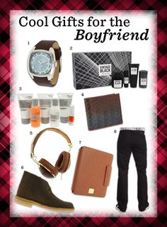 Cool Gifts For Your Boyfriend