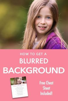 "Beginner Photography Tutorial - A step by step guide on how to blur out the background in your images! Learn how to pull focus to your subject in this guide for beginners. You can also get your hands on a free ""cheat sheet' so you can print out the steps"