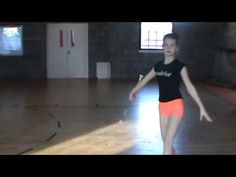 ▶ Baton twirling tutorial - YouTube Girl is performing some tricks several times.