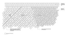 The Deptford Project, London by Farrer Huxley Associates « Landscape Architecture Works Vertical Signage, Landscape Architecture, Landscape Design, Paving Texture, Oak Cladding, Security Shutters, Paving Design, Detailed Drawings, Technical Drawings