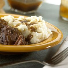 The name says it all...short ribs become exceedingly tender when slow-cooked in a flavorful combination of French onion soup, ale, garlic, brown sugar and seasonings.