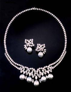 statt der Diamanten Perlen und statt der Perlen Fimoperlen