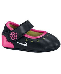 Nike Baby Shoes, Baby Girls Mary Jane Crib Shoes - Kids Shoes - Macy's