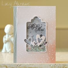 I ADORE this card! Gorgeous colors. Lucy is so talented. ✿ Join 1,900 others & follow the Cards and paper crafts board. Visit GrannyEnchanted.Com for thousands of digital scrapbook freebies. ⊱✿⊰