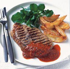 20 συνταγές της μισής ώρας! - www.olivemagazine.gr Sauce Au Poivre, Recipe For Success, Pleasing Everyone, Gf Recipes, Mediterranean Recipes, No Cook Meals, Easy Meals, Sweets, Beef