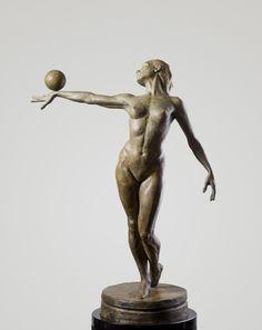 Paige Bradley  Balance, Third Life    Bronze    24 x 32 x 16 inches