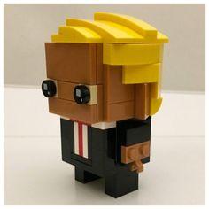Build your very own Donald Trump BrickHead [Instructions]