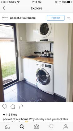 """Check out our web site for more relevant information on """"laundry room storage small"""". It is a great location to find out more. Laundry Cupboard, Laundry Nook, Laundry Room Layouts, Laundry Room Remodel, Small Laundry Rooms, Laundry Closet, Laundry Room Organization, Laundry In Bathroom, Unit Bathroom"""