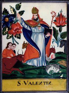 What is saint valentine the patron saint of