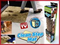 8b) MAGICZNA WYCIERACZKA MAGIC CLEAN STEP MAT DYWANIK Magic, Cleaning, Decor, Decoration, Dekoration, Home Cleaning, Inredning, Interior Decorating, Deco