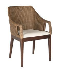 Safavieh Enrico Arm Chair, Multi Brown at MYHABIT