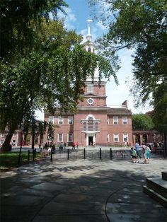 Philadelphie - le bâtiment où a été signée la Constitution des États-Unis #USA