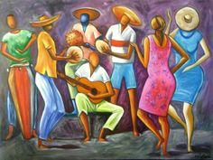 História do Samba Carybé