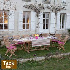 Salon de jardin résine tressée PORTEFINO prix Soldes Delamaison ...