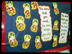 Cute bulletin board for Read Across America Week