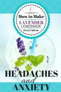 Got a headache that just won't go away? Many people find that traditional over-the-counter pain relief medication is ineffective in dealing with persistent headaches, which can be caused by stress, tension, dehydration, or any number of external or internal factors. | https://dailyhealthpost.com/how-to-make-lavender-lemonade-to-get-rid-of-headaches-and-anxiety/