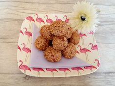 "These soft, tasty oat balls are a perfect healthy treat for your little one!  Suitable from 6 months old they are solid enough to hold their shape while baby holds them and soft enough that they are easy to chew! They make a great breakfast, treat or snack! Ingredients  A large handful of strawberries.  (I … Continue reading ""Strawberry oat balls"""