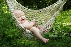 Outdoor Hammocks – Relaxing with indoor or outdoor hammocks is like taking a mini vacation in your backyard or garden, on the patio or in some cases indoors. Hammock Ideas, Outdoor Hammock, Indoor Swing, Hammocks, Indoor Outdoor, Sweet Baby Pic, Toddler Photos, Lil Boy, Mini Vacation