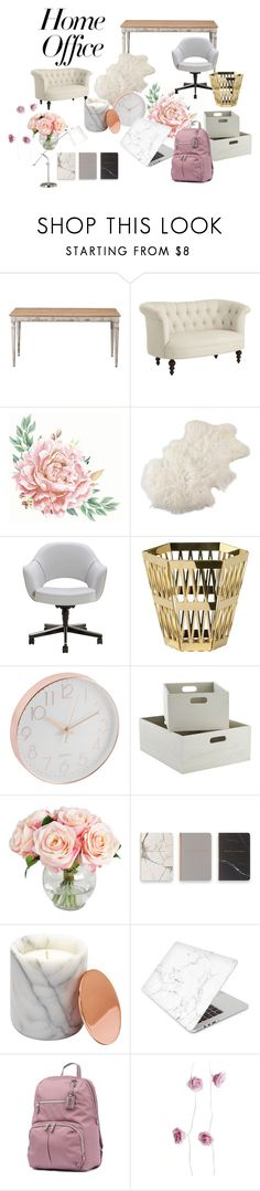"""Home Office"" by livelyzilla-royalspml ❤ liked on Polyvore featuring interior, interiors, interior design, home, home decor, interior decorating, Pier 1 Imports, Saro, Ghidini 1961 and Eccolo"